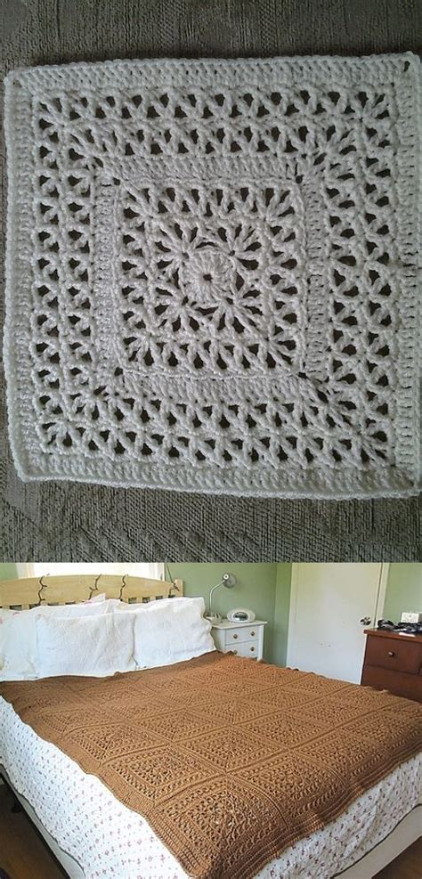 square pattern weights 1520 curated blocks afghan to crochet ideas by bpswim