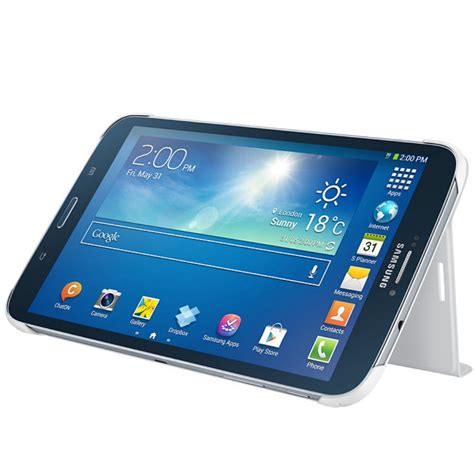 Samsung Galaxy Tab 3 8 0 White By husa stand book cover white pentru samsung galaxy tab 3 8