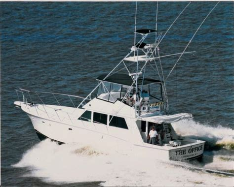 52 ft boat 1987 hatteras w cats sportfish for sale