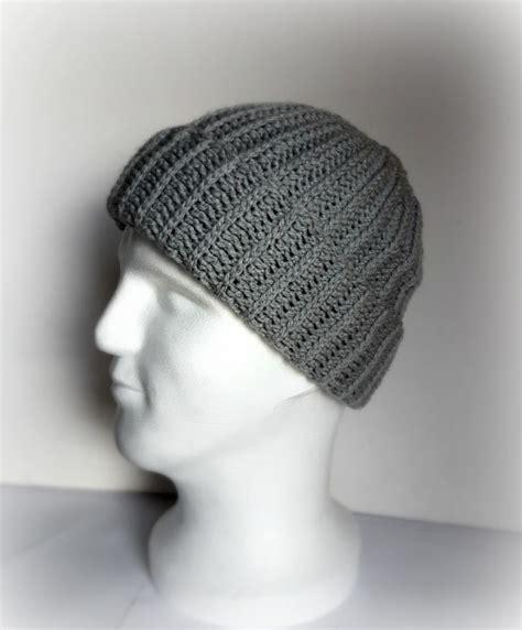 pattern crochet mens hat my hobby is crochet ribbed men hat free crochet pattern