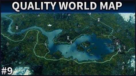 a quality world map skyrim mod spotlight 9 a quality world map with