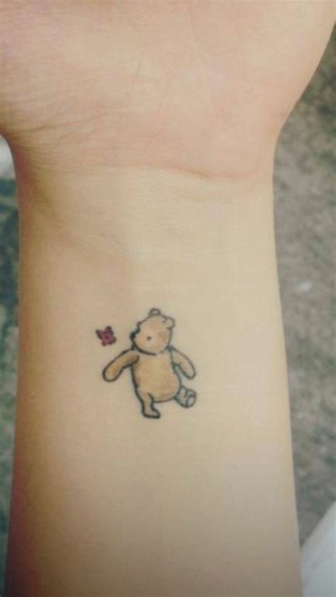 small bear tattoo bears cutest small disney