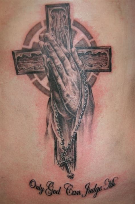 only god can judge me cross tattoos pics for gt god with cross