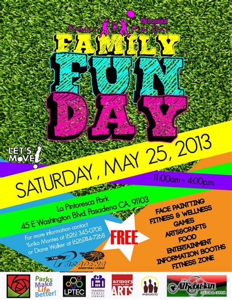 fun day flyer template download from coronetpublications