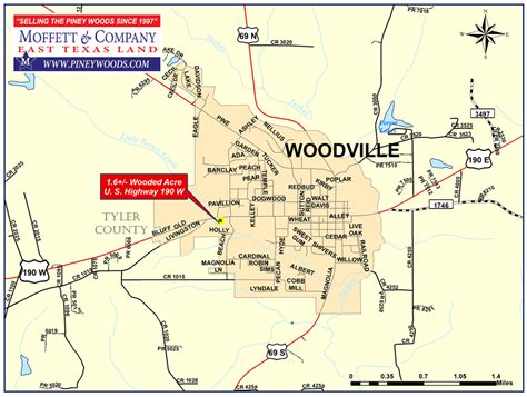 woodville texas map commercial real estate m moffett company properties