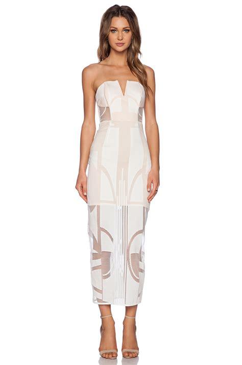 Dress Se lyst shona seidler bustier dress in white