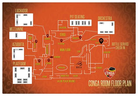 Congo Room by Conga Room Bottle Service Discotech The 1 Nightlife App