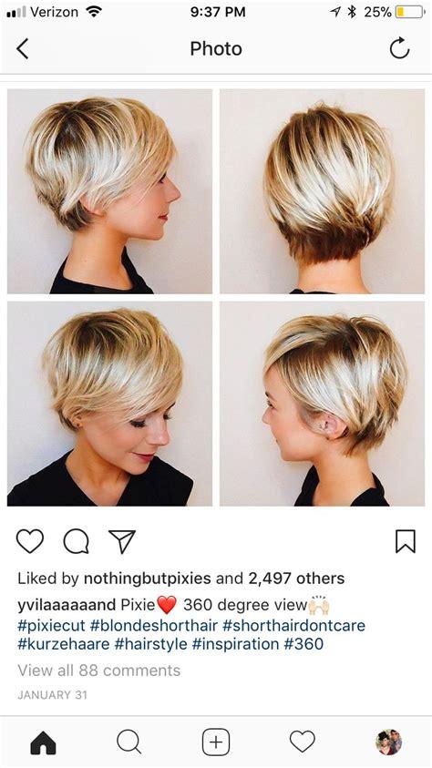 pixie cut all angles long pixie haircut all angles cute hair pinterest