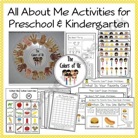preschool themes pictures 118 best all about me preschool theme images on pinterest