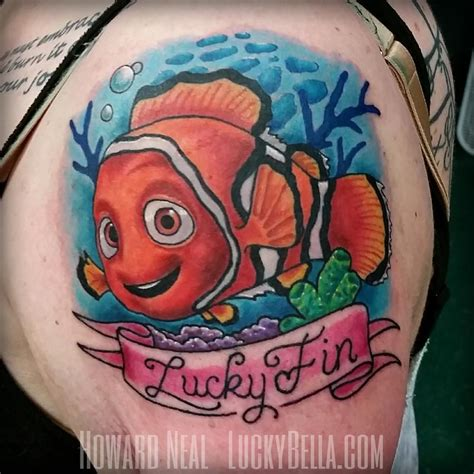 nemo tattoo finding nemo by howard neal tattoonow