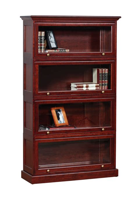 Barrister Bookcases With Glass Doors Barrister Stackable Bookcase Office Furniture Bookcases