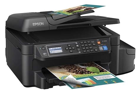 All In One Printer With Document Feeder epson workforce et 4550 ecotank all in one printer automatic document feeder