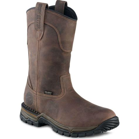 pull on boots setter 11 inch steel toe waterproof pull on boots 83906