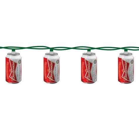 budweiser string christmas lights