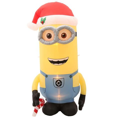 minion bounce house inflatable minions for christmas holidays santa s site