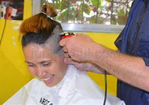 cherry jane with short haircut fun hair cut more flickr cherry jane 180 s tattoo buzzcut