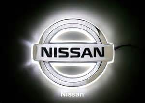 Glowing Nissan Emblem Car Trunk Accessories 2017 2018 Best Cars Reviews
