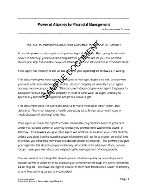 power of attorney template canada power of attorney united kingdom templates