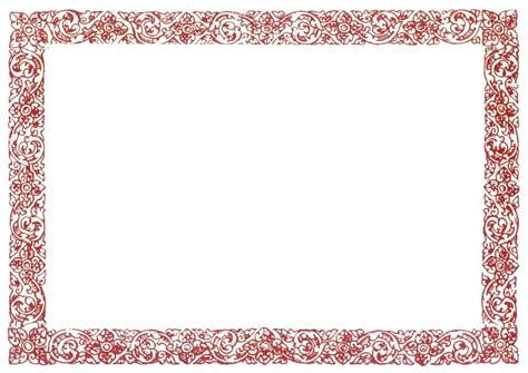 Document Blank Border Templates Blank Certificates Borders Templates
