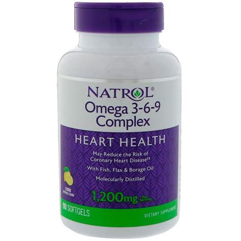 Special Offers Natrol Omega 3 6 9 Complex Lemon Flavor 90 Softgels natrol omega 3 6 9 complex lemon flavor 1 200 mg 90
