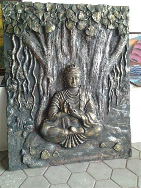 Buddha Wall Murals buddha emboss wall mural manufacturer amp manufacturer from