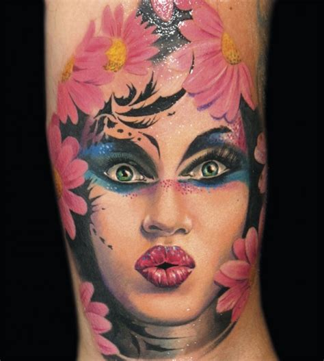 tattoo for girl face creative portrait tattoos best tattoo 2014 designs and
