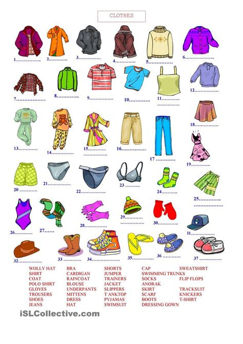 imagenes learning english 9 best clothes images on pinterest english grammar