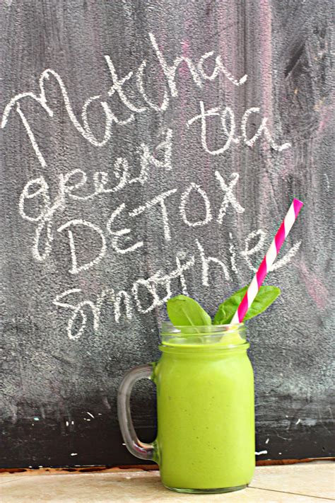 Matcha Tea Detox by Matcha Green Tea Detox Smoothie Weeklybite