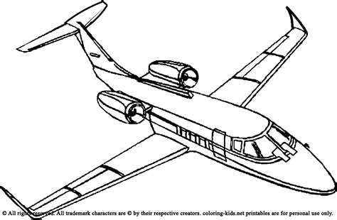 images to color top airplane pictures to color colouring pages 14346
