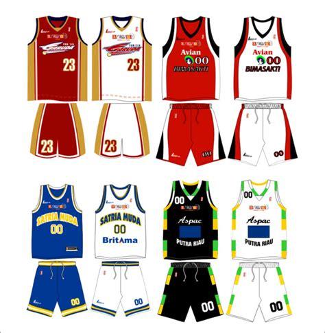 desain jersey baju basket