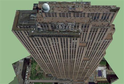 30 Rockefeller Plaza GE Building 3D Model .skp   CGTrader.com