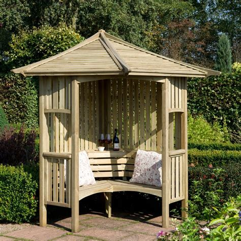 b q garden swing blooma softwood corner arbour departments diy at b q