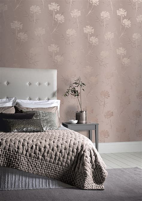bedroom wallpapers 10 of the best kimora rose gold arthouse