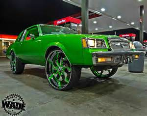 Buick Regal On Rims Classic Weekend Slime Buick Regal On 28 Quot Asanti Wheels