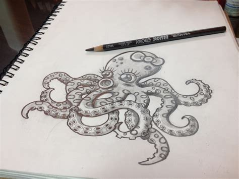 tattoo temple edmonton cartoon octopus drawing instagram themanyao drawing