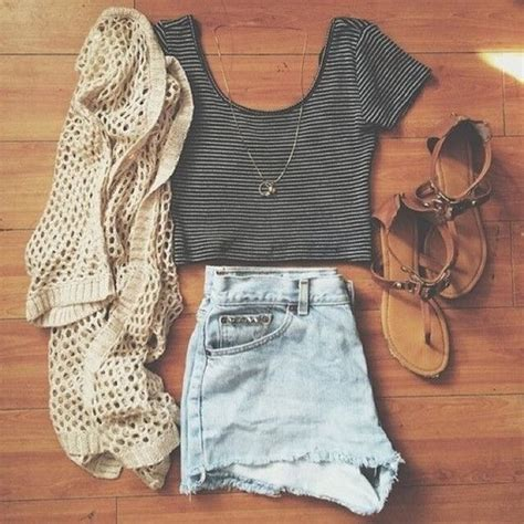 pinterest spring summer fadhion and style cardigan summer grey crop top and hunt s