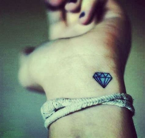 diamond tattoo on the wrist girl tattoos and designs page 3