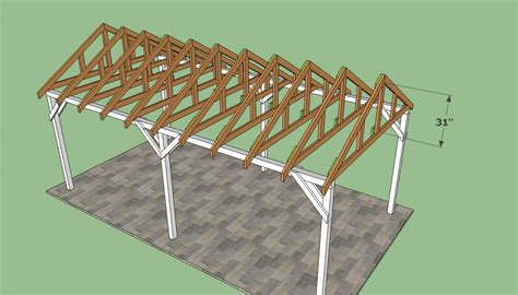 Carport Plans Free by Free Carport Plans Howtospecialist How To Build Step