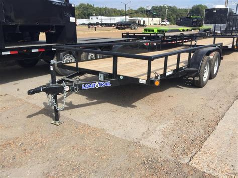 utiltiy trailer and landscape trailers sold here load