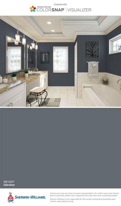 sherwin williams gibraltar sw 6257 paint colors