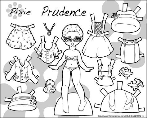 printable paper dolls black and white gypsy rose paper dolls and gypsy on pinterest