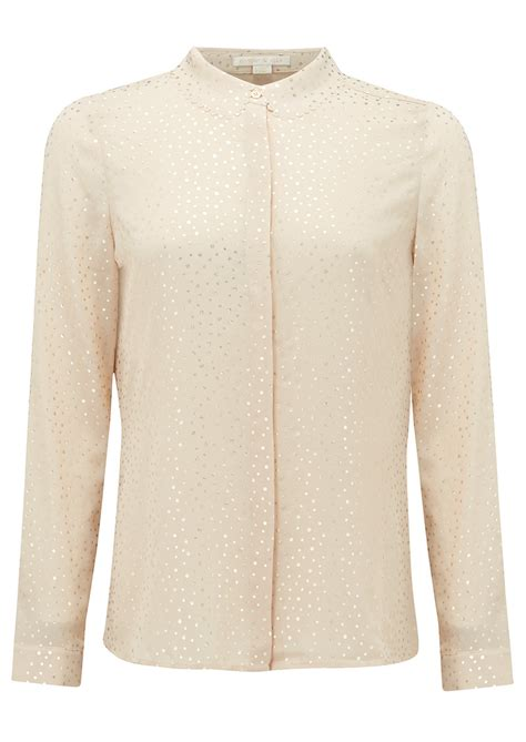 Blouse Cameron 1 cooper and ella cameron blouse ivory gold