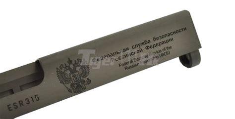 Guarder Glock 109 Recoil For Kjwestark Arms G1923 guarder aluminum cnc 7075 fsb slide for tm g18c black airsoft tiger111hk area
