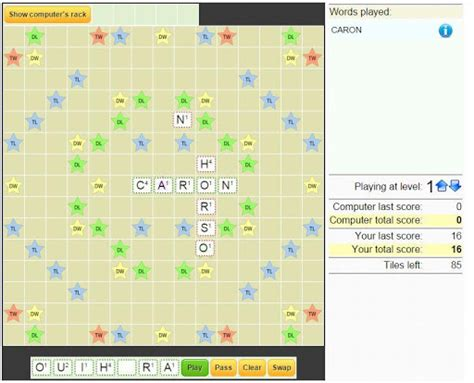 scrabble solitaire free scrabble solitaire 2 play softwares