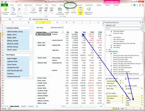 how to use excel pivot table screen demonstration econoshift com
