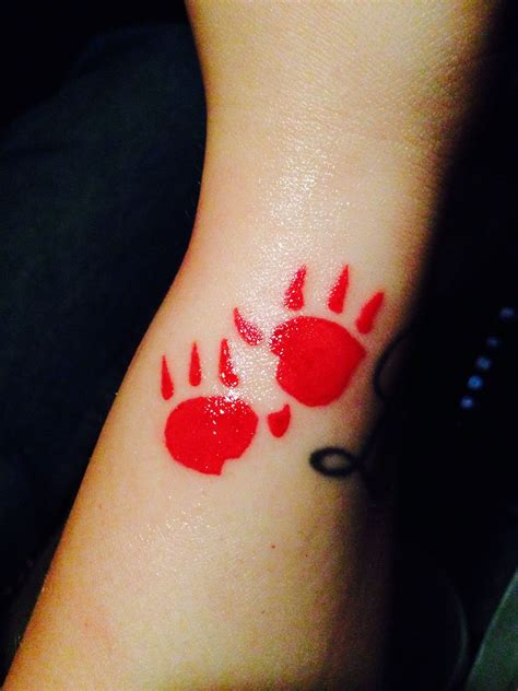 pocahontas tattoos pocahontas kocoum paw print tattoos