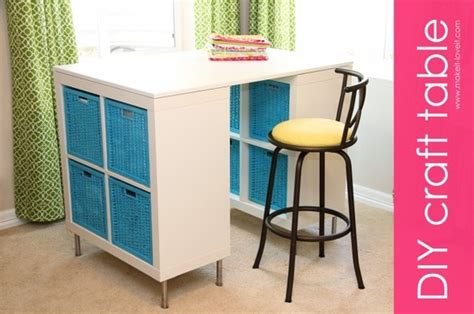 craft table diy diy counter height craft table a jennuine