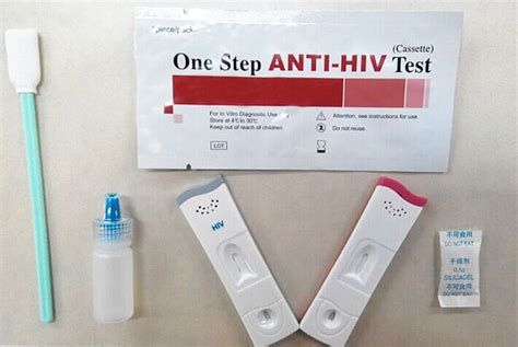 test hiv saliva one step home use anti hiv test card rapid saliva aids