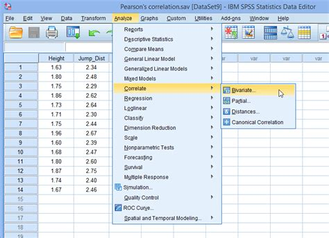 spss learning tutorial pearson s product moment correlation in spss statistics