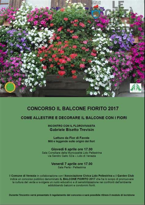 il balcone fiorito balcone fiorito venezia ve 2017 veneto eventi e sagre